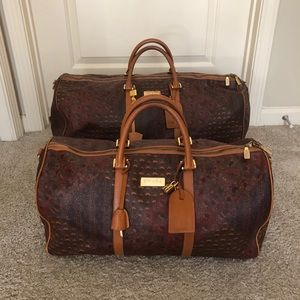 Vintage ESCADA — Travel duffles, large